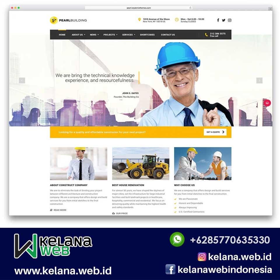 Standar Harga Web Company Profile