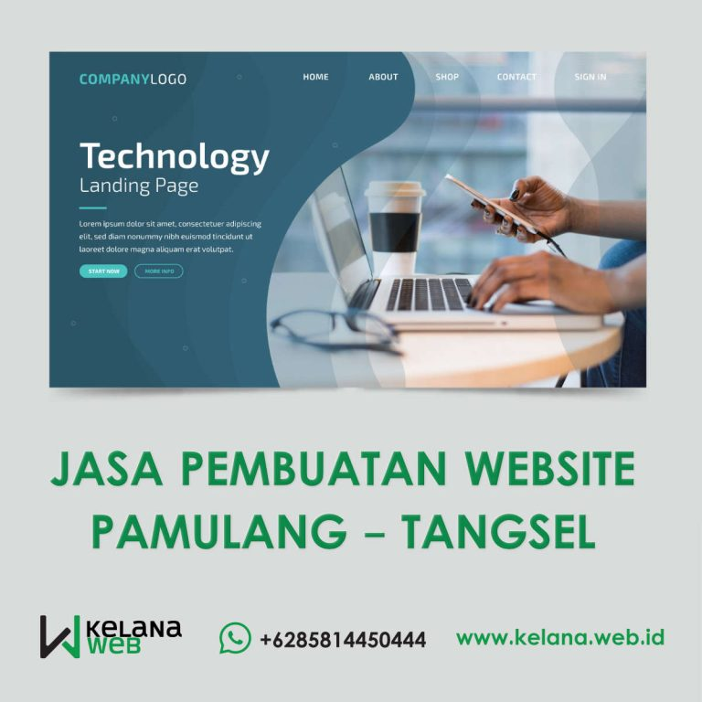 Jasa Pembuatan Website Pamulang
